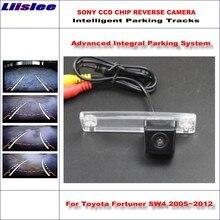 Liislee Intelligent Parking Tracks Rear Camera For Toyota 4Runner SW4 / Hilux Surf 2002~2010 Backup Reverse NTSC RCA AUX HD