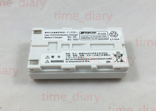 NEW Replacement BT-66Q Battery for Topcon FC-200, GPT-7500 BT-62Q bt 65q battery for topcon gts 750 gpt 7500 total stations