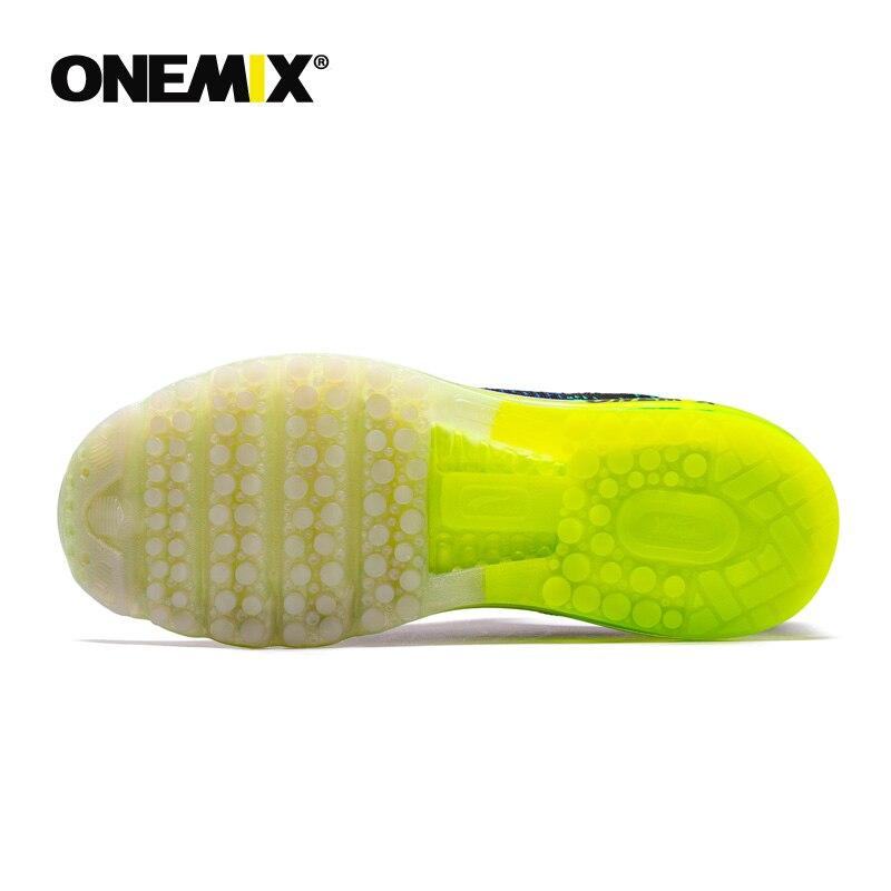 Onemix men's sport running shoes music rhythm men's sneakers breathable mesh outdoor athletic shoe light male shoe size EU 39-47 - 6