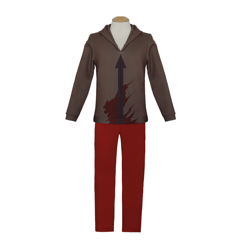 Angels Of Death Costume Men Isaac Foster Zack Sweatshirts Pants Suit Cosplay Adult Fashion Anime Clothing 3D Jackets Trousers