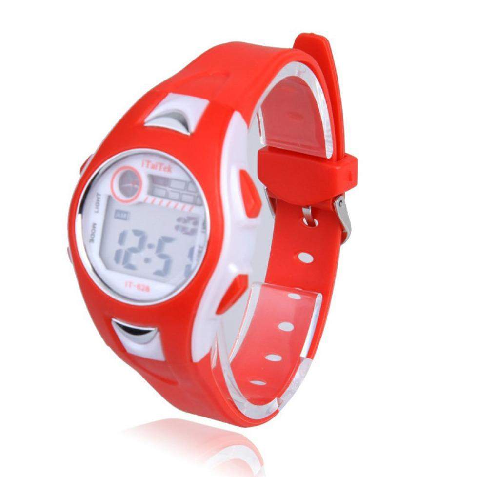 Watches #5002children Boys Student Waterproof Sports Watch Led Digital Date Wristwatch Dropshipping New Arrival Freeshipping Hot Sales