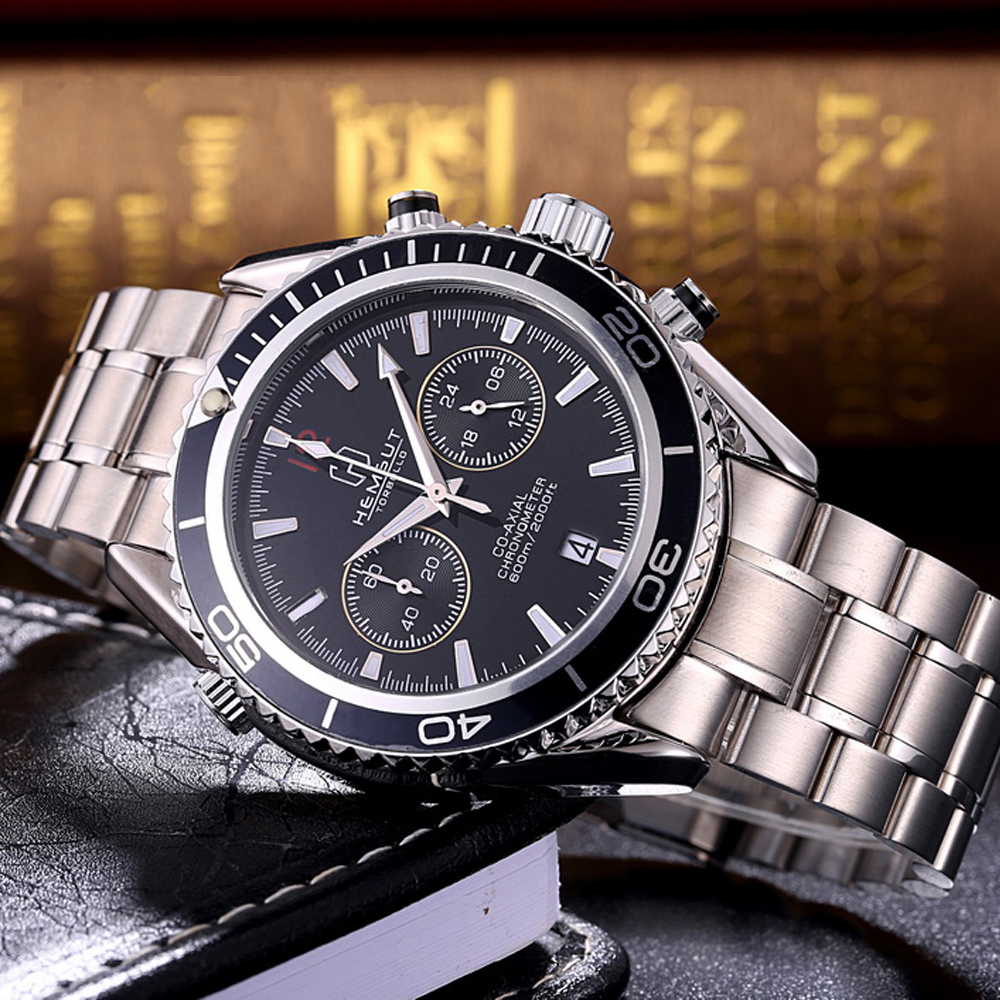 men p man resistant business automatic gold wristwatch casual ochstin black luminous fashion mechanical online leather watches genuine rose water