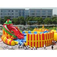 Надувной водный парк оборудования, гигантские надувные водные игры для взрослых, Надувной Аквапарк Производителя