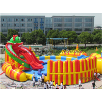 Inflatable Floating Water Park Equipment, Giant Inflatable Water Games for Adult, Inflatable Water Park Manufacturer