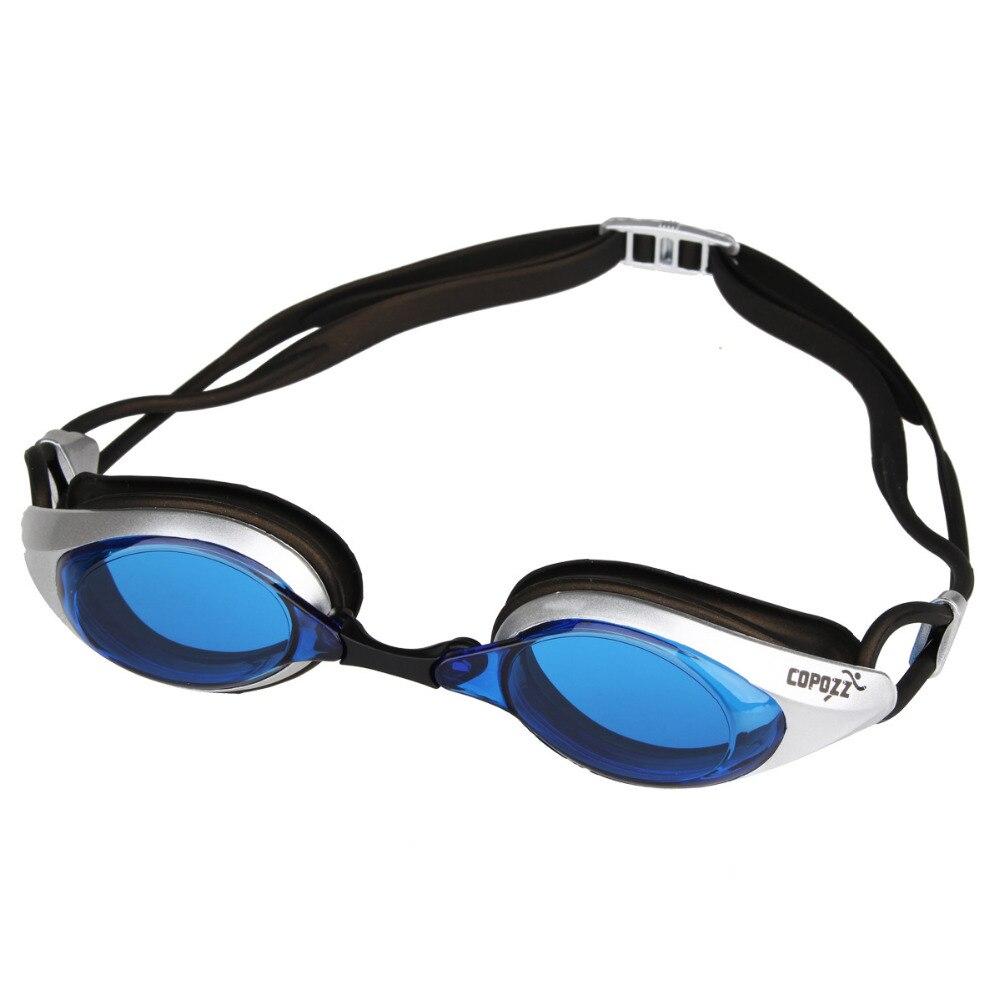 Copozz Natation Lunettes De Natation Lunettes Anti Brouillard UV Silicone Étanche pour Hommes Femmes Adultes Sport lunettes natacion