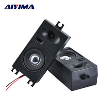 AIYIMA 2Pcs Audio Music Portable Speakers 8Ohm 10W DIY Passive Strong Magnetic Car TV Home Theater Speaker
