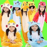 Children S Onesie Costumes Kids Halloween Carnival Kigu Pokemon Cosplay Pikachu Raichu Charmander Charmeleon Monferno Bulbasaur
