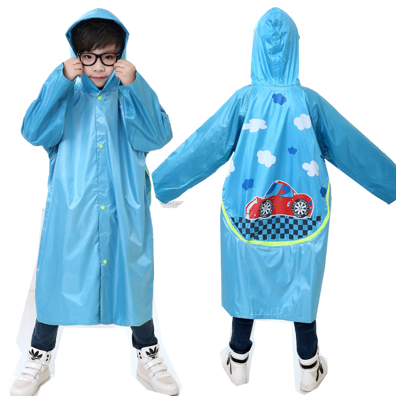 Kids Rain Coat Children Raincoat Poncho Girl Chubasqueros Impermeables Mujer Plastic Women Raincoat Waerproof QQG307