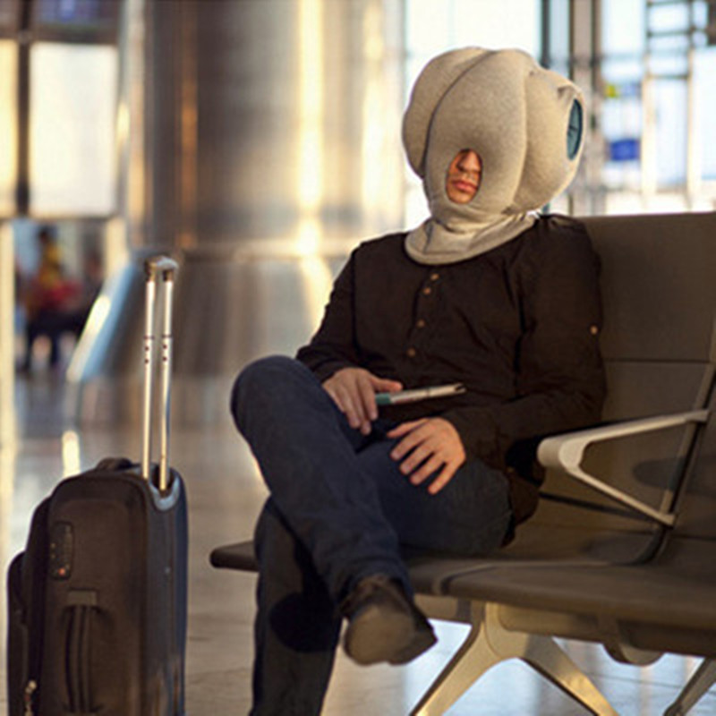 Fashion Creative Ostrich Pillow Office Lunch Time Library Rest Air Train Travel Respite Nap Sleeping Nursing Soft Cotton In Bedding Pillows From