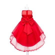 Hot! bébé Filles Robes de Fête de noël, Enfants D'été 2016 Mode Robes, Enfants Fête De Noël Vêtements Filles Robe