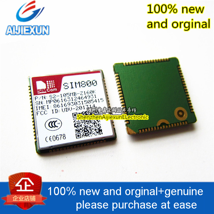 2pcs 100% new and orginal SIM800 Bluetooth version universal four frequency GSM GPRS module in stock 10pcs new and orginal max8677aetg 10pcs d16027g in stock