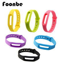 1pcs Replacement Band For Xiaomi for Miband 1A/ 1S Smart Wristband Silicone Strap Belt for Mi Band 1S 1A Bracelet