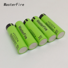 4pcs/lot Original 18650 NCR18650B Rechargeable battery 3.6V 3400mAh batteries For panasonic laptop,Free Shipping