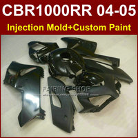 Flat black bodywork for HONDA bodykit CBR1000 RR 04 05 CBR 1000RR 2004 2005 Injection mold Motorcycle fairings Custom Paint