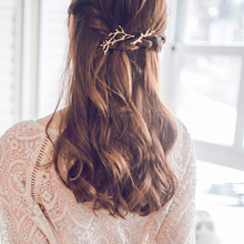 Women Girls  1 pc Hairpins Vintage Metal Tree Branches hair clips girl barrette Hair Accessory for Kids