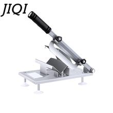JIQI коммерческий бытовой ручной ягненок слайсер для говядины мясорубки замороженное мясо машина для резки овощей баранины рулоны ручной мясорубки резак