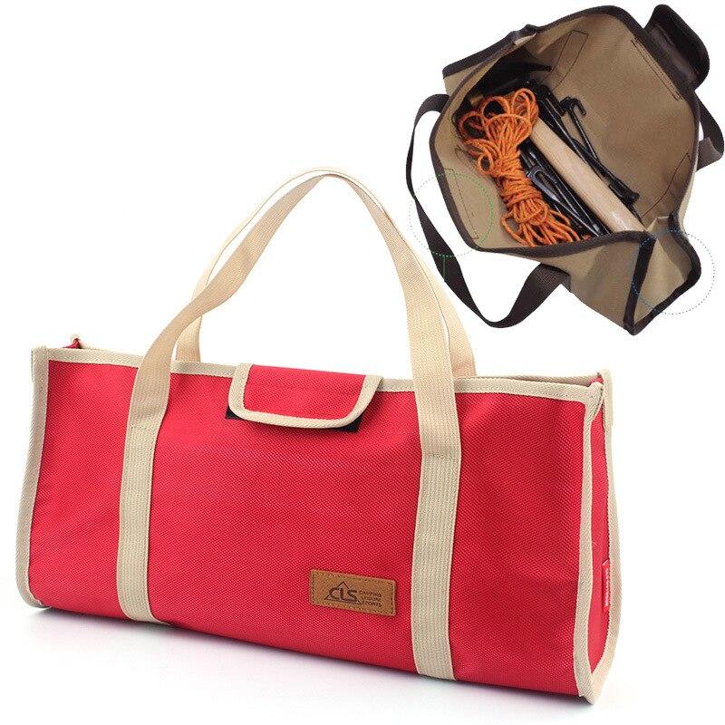Tragbare Zelt Werkzeuge Kit Outdoor Lagerung Tasche Veranstalter Hammer Wind Seil Heringe Nagel Tasche Nägel Taschen Camping Handschuh Box
