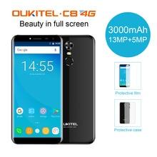 """Nouveau Oukitel C8 4G 5.5 """"Aspect ratio Smartphone 2G + 16G 18:9 Infinity Affichage 3000 mAh 13MP Caméra Android 7.0 4G LTE Mobile Téléphone"""