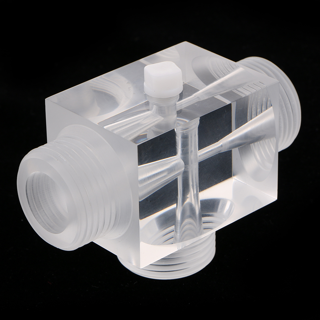 Image 2 - Jet Aerator Of Venturi Pulsator Injector For Water Treatment Pharmaceutical Kit 60x43x43mm Made From Plexiglass    -
