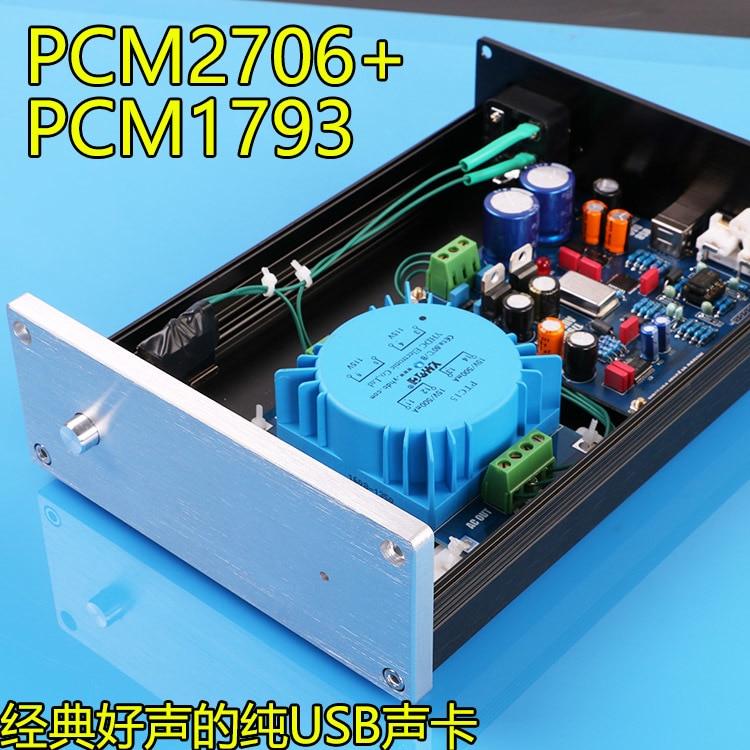 WunderschöNen Desktop Pcm1793 Pc Usb Audio Decoder Hohe Qualität Dac/usb Decoder Schöne Sound Unterhaltungselektronik