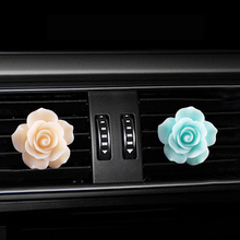 Rose car Air conditioning outlet perfume interior accessories fragrance