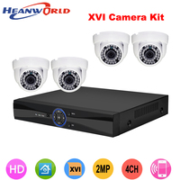 1080P Full HD 4CH CCTV System Kit Indoor IP Camera Video Security Dome Network IP Camera