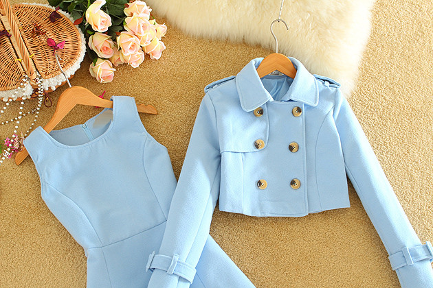 Women-Clothes-Set-2016-Fall-Fashion-England-OL-Women-Dress-Suit-Two-Piece-Set-Double-Breasted (1)