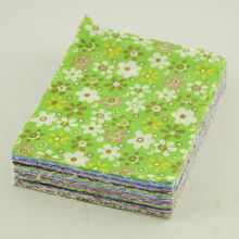 Fabrics Square Scrapbooking Plain 30 Pcs/lot 10*12 CM 100% Cotton Fabrics Free Style Desk Decoration Telas Teido Christmas Craft