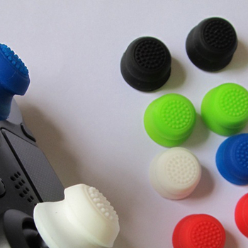 Картинка 2 шт. силиконовые очень высоком джойстик Расширенный аналоговый джойстик захваты для PS4 Pro Slim контроллер чехол для Dualshock 4 Xbox ONE
