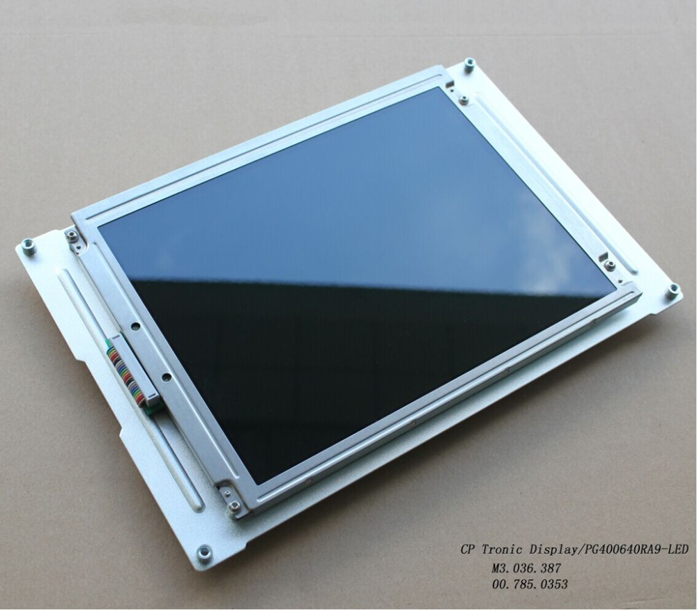 "MD400F640PD1A MD400F640PD2A 9,4 ""CP Tronic Display kompatibilis LCD panel Heidelberg CD / SM102 PM / SM74 MO / SM52 sajtókhoz"