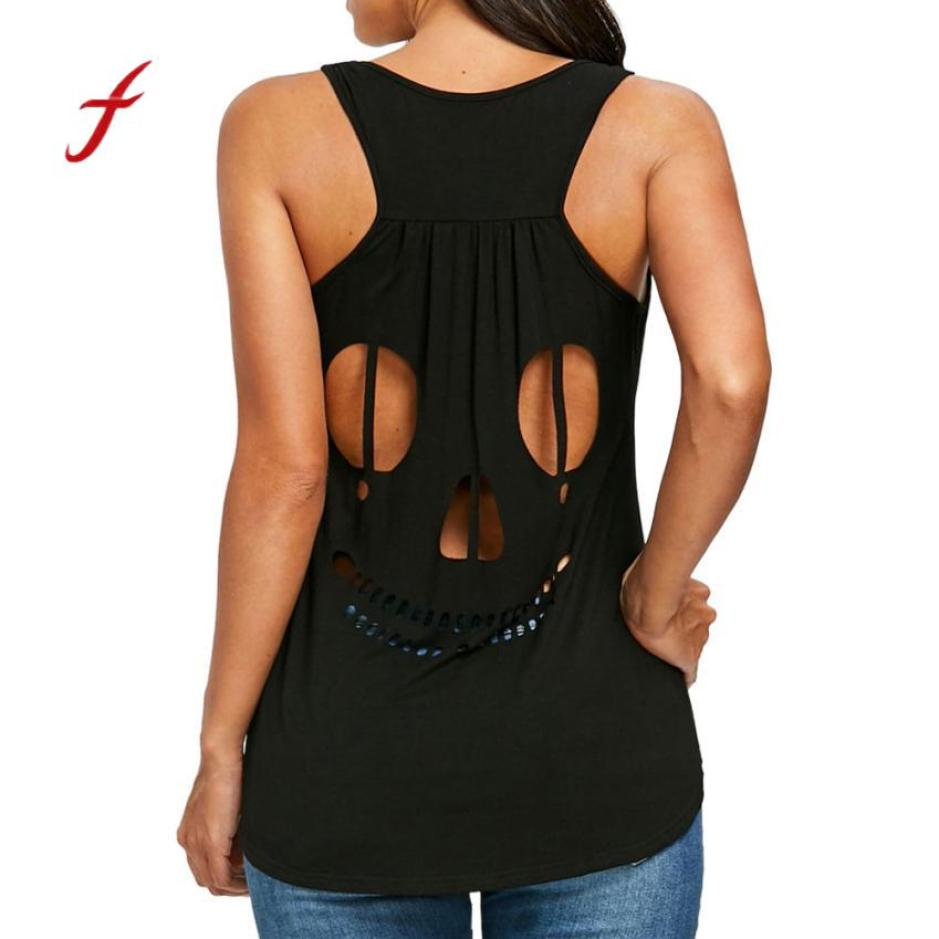 Woman's Plus Size Backless Top
