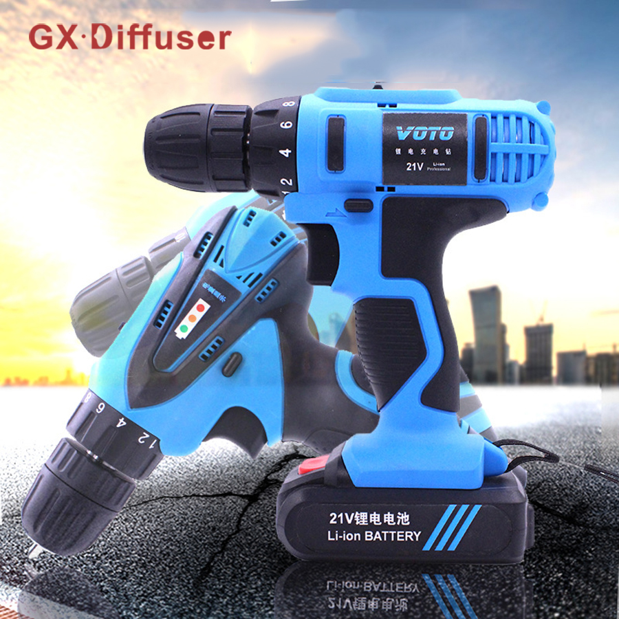 12V Electric Screwdriver Lithium Battery Rechargeable Parafusadeira Furadeira Multi-function Cordless Electric Drill Power Tools new electric drill cordless screwdriver rechargeable battery electric screwdriver parafusadeira furadeira tenwa power tools