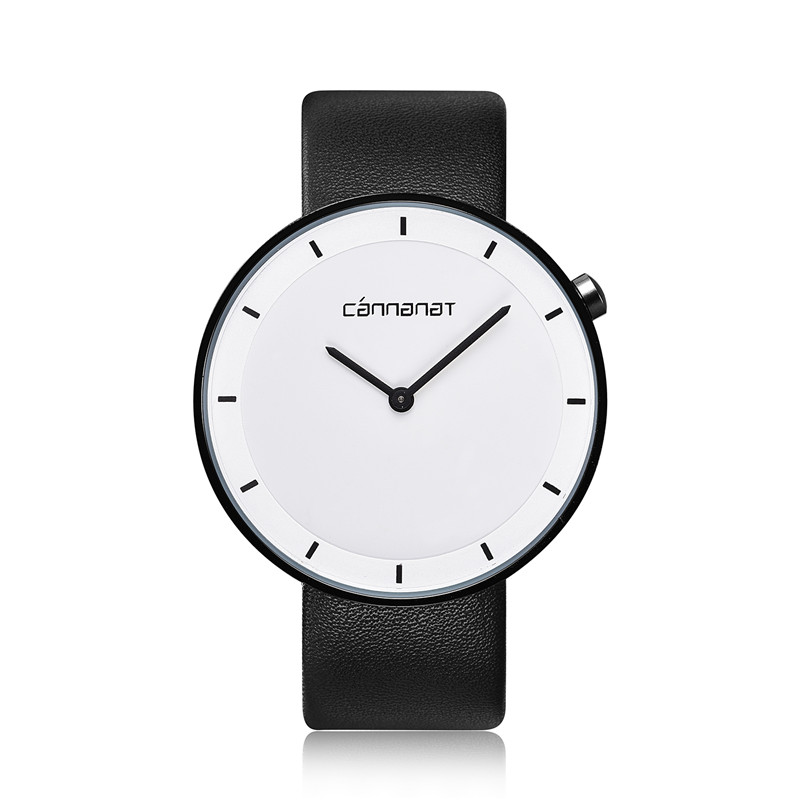 купить Hot Sale Ladies Fashion Casual Leather Strap Watch Simple Style Classic Elegant Analog Quartz Business Wristwatch по цене 2919.3 рублей