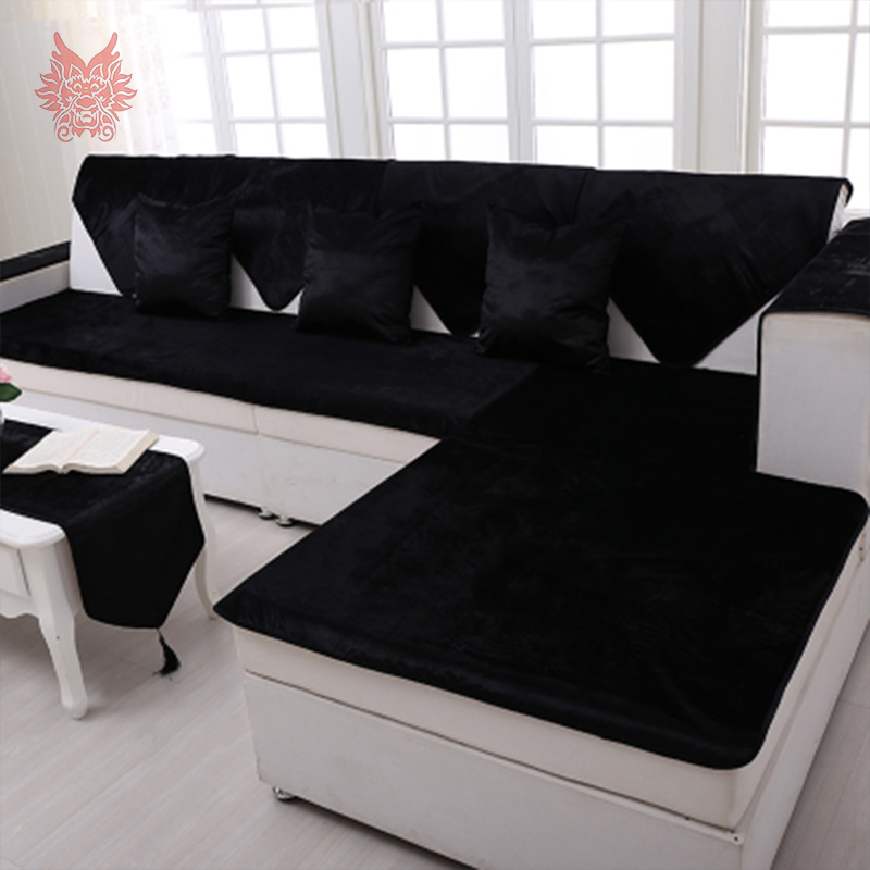 sofa covers for leather online living room inspiration red free shipping grey camel black velvet cover flannel plush slipcovers cheap sectional couch fundas de sp2519 in from home