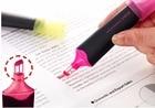 LifeMaster Uni Highlighter Marker Propus Window View 4.0 mm Orange/Pink/Yellow/Blue/Green/Violet - Chisel USP-200