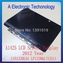 "New Original For Apple Macbook Retina 13"" A1425 LCD Screen Display LSN133DL01 LP133WQ1(SJA1) 2012 Year"