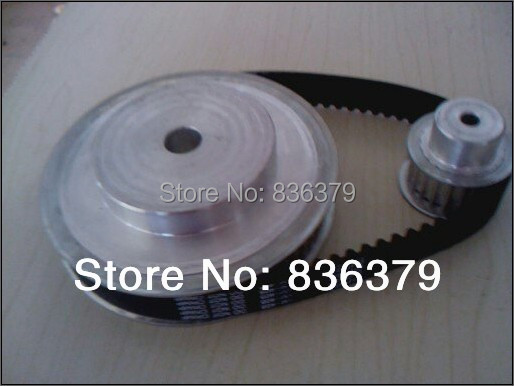 Free Shipping Timing belt/ timing pulleys the suite of Synchronous belt 5M(3:1)