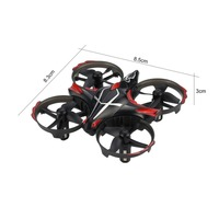 JJR/C H56 2.4G Mini Drone with Infrared Sensing Altitude Hold 3D Flip One Key Return RC Quadcopter Aircraft for Kids Children