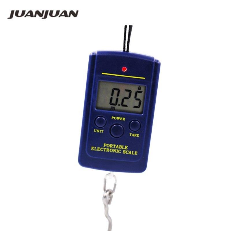 40kg x 10g Portable Mini Electronic Digital Scale Hanging Fishing Luggage Pocket Weight Balance Steelyard  20%off