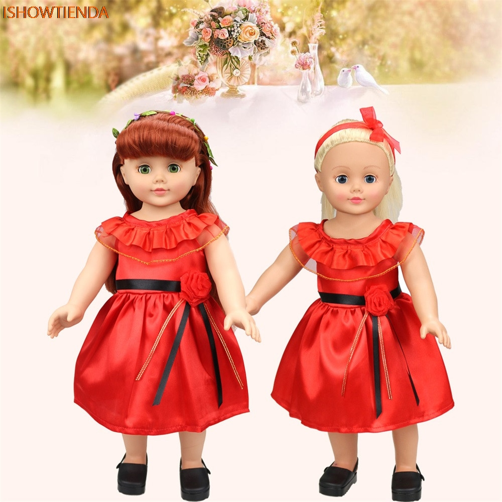 Lovely Princess Dress Up Costume For 18 inch Our Generation American Girl Doll the United
