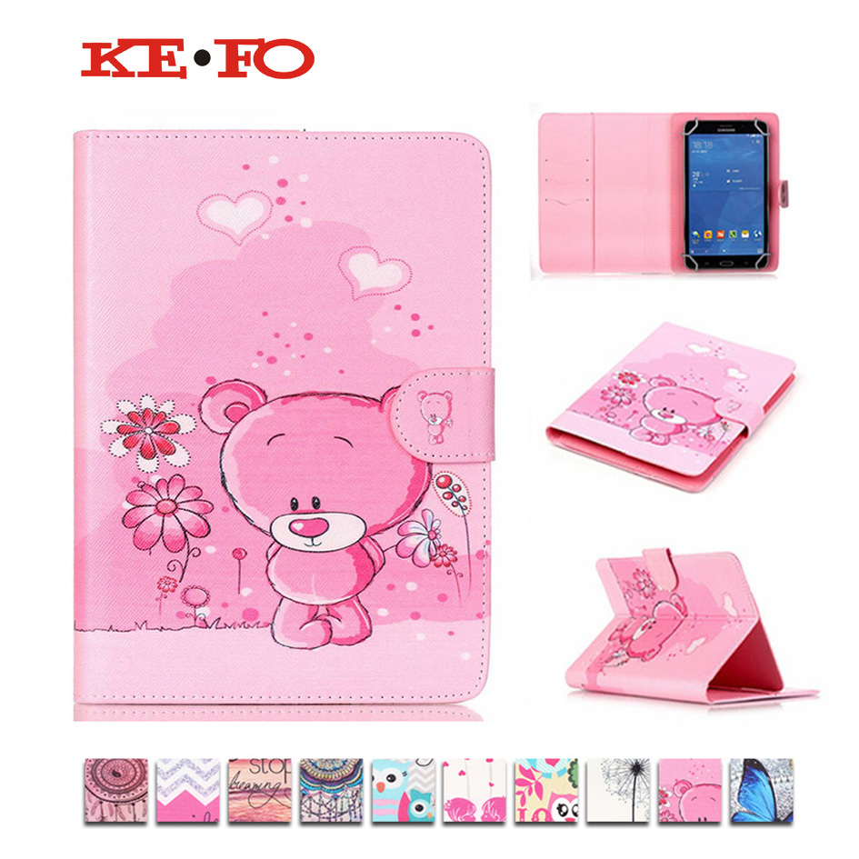 Tablet Cases 7 Inch Owl Pattern PU Leather case cover For Digma Optima 7.2 3G For Digma Optima 7.07 3G Universal bags M4D69D