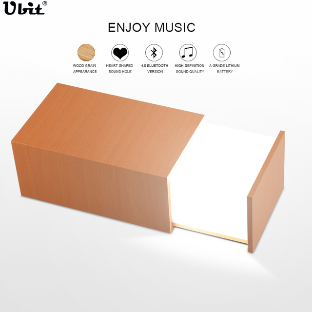 Ubit Portable Mini LED Night Light Wireless Bluetooth Speaker ...