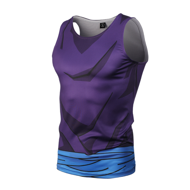 Dragon Ball Z Summer Bodybuilding Compression Tank Top