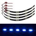 CARPRIE 4 x 30 cm 5050 15 LED Car Trucks Moto Grill Flexible Waterproof led 4 strips light rgb