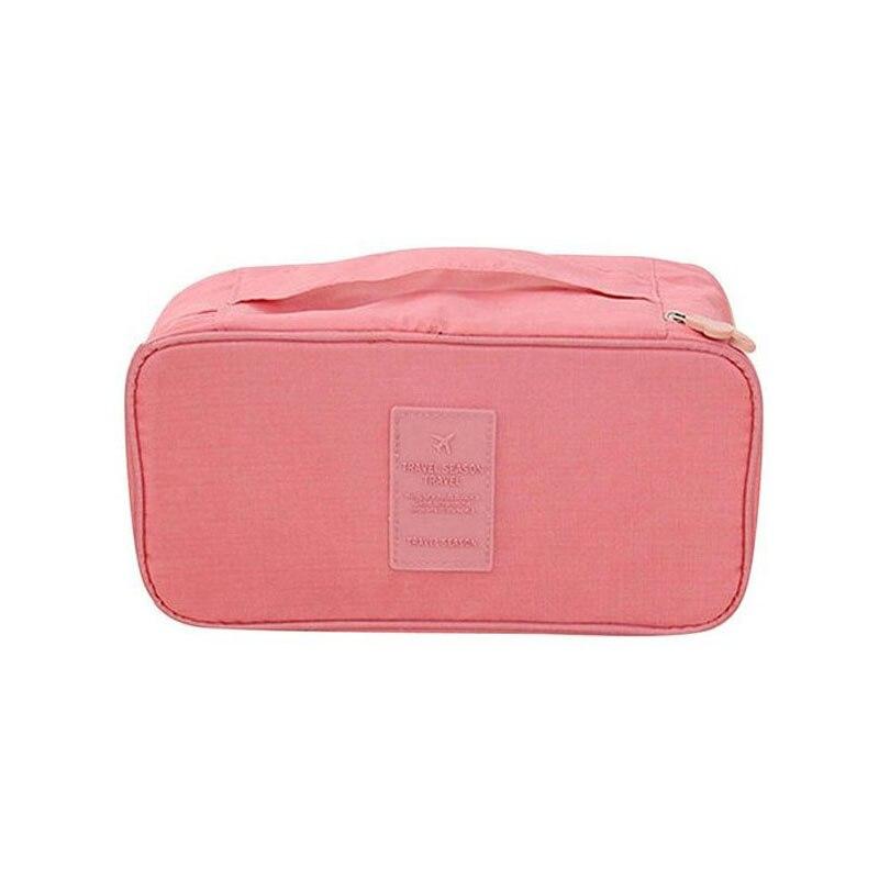 Bra Underwear Storage Bag Waterproof Nylon Travel Portable Makeup Pouch Case Handbag Cosmetic Container Travel Storage Bag
