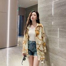 Milinsus Blouses Woman 2019 Kimono Cardigan Korean Summer Chiffon Oversized Long Sleeve Shirt Womens Tunic