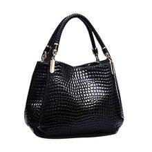 2017 New Fashion Women Leather Handbags Designer Brand Crocodile BagLuxury Lady Hand Bags Purse Shoulder Bag Tote Sac Crocodile