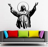 HWHD 2016 yeni moda Duvar Sticker Vinil Çıkartması İsa Mesih Hıristiyan Din ücretsiz kargo