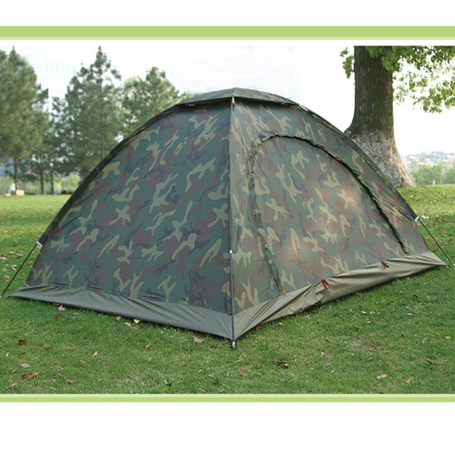 Camouflage Travel Tent Breathable UV-Protection Beach Tent Outdoor Waterproof C&ing Tent for 2 person & Camouflage Travel Tent Breathable UV Protection Beach Tent Outdoor ...