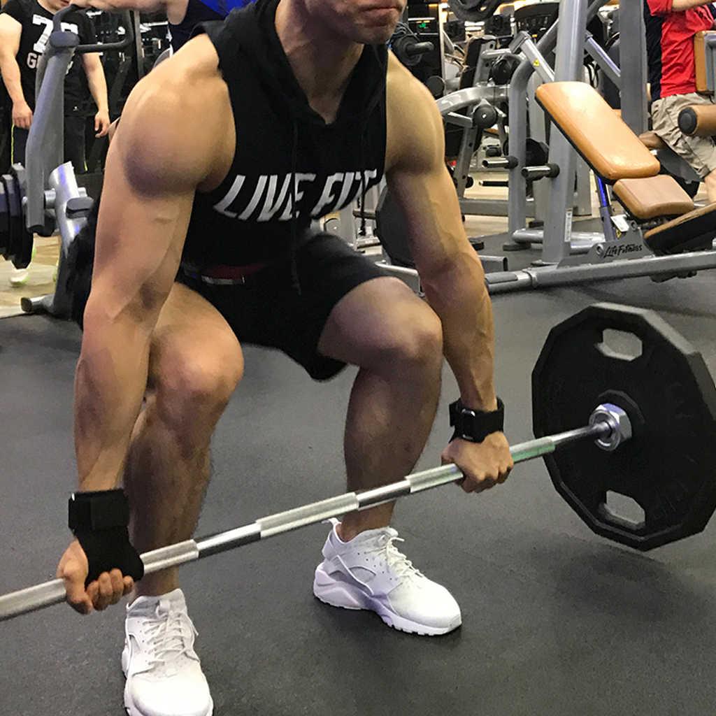 Częścią zdrowego stylu życia obejmuje wykonanie uchwyty ręczne gimnastyka rękawiczki dla Gym Fitness podnoszenie ciężarów dłoni trening Crossfit kulturystyka wsparcie nadgarstka